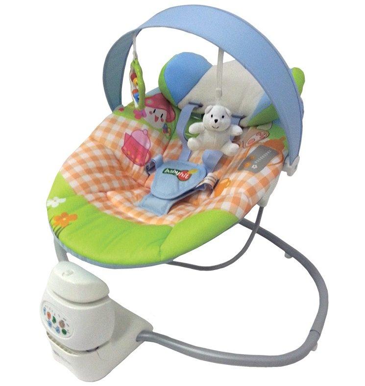 Электрический шезлонг для новорожденных купить