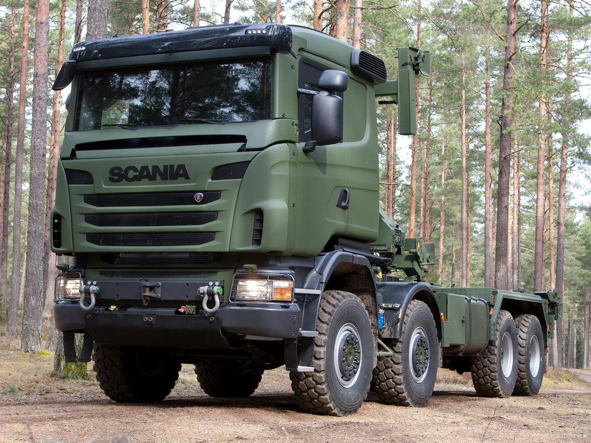scania camion militari S1200