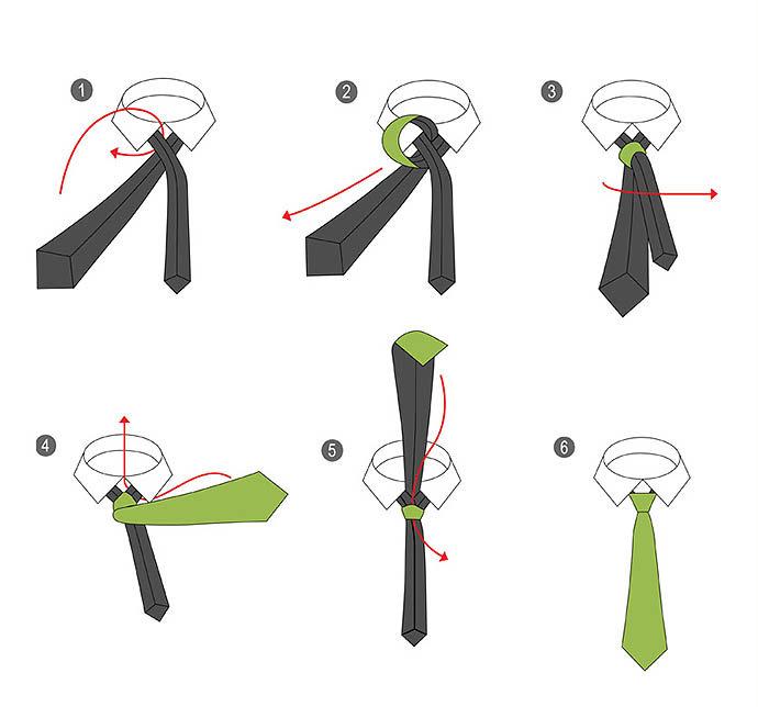 описаны способ завязывания галстука картинки с этапами стало самостоятельным, сохранив