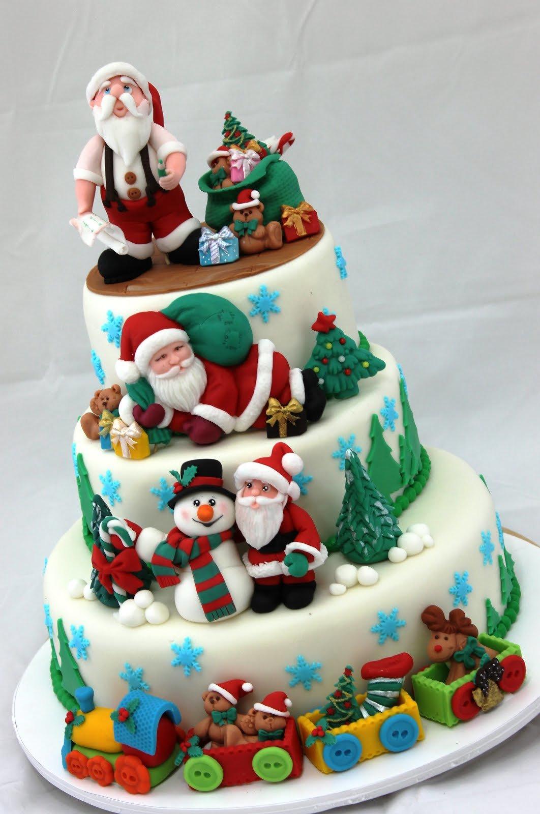 новогодний торт с мастикой фото есть где разгуляться