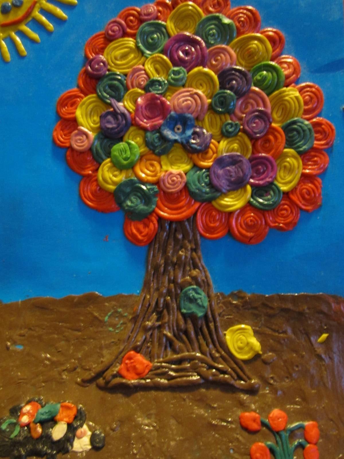 Картинки про осень из пластилина, поздравления марта парнем