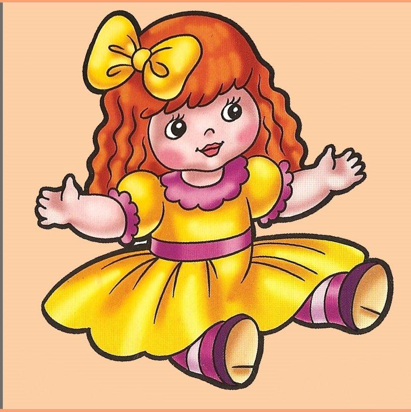 Кукла картинка детская