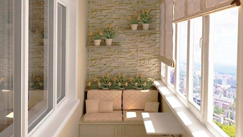 Идеи для балкона (20 фото).