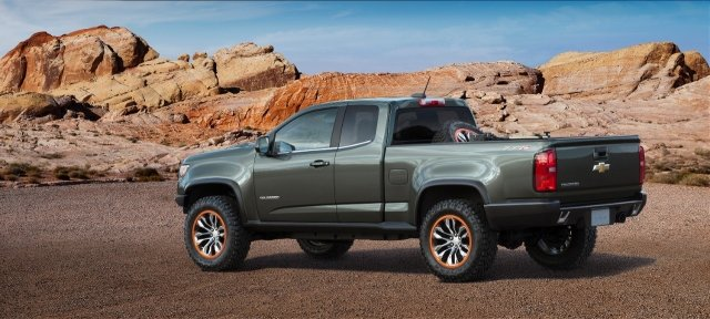 Chevrolet представил концепт-внедорожник Colorado ZR2 Pickup Concept