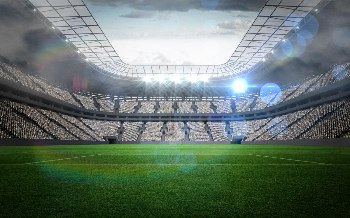 Открытки с видом стадиона, баг супер кот