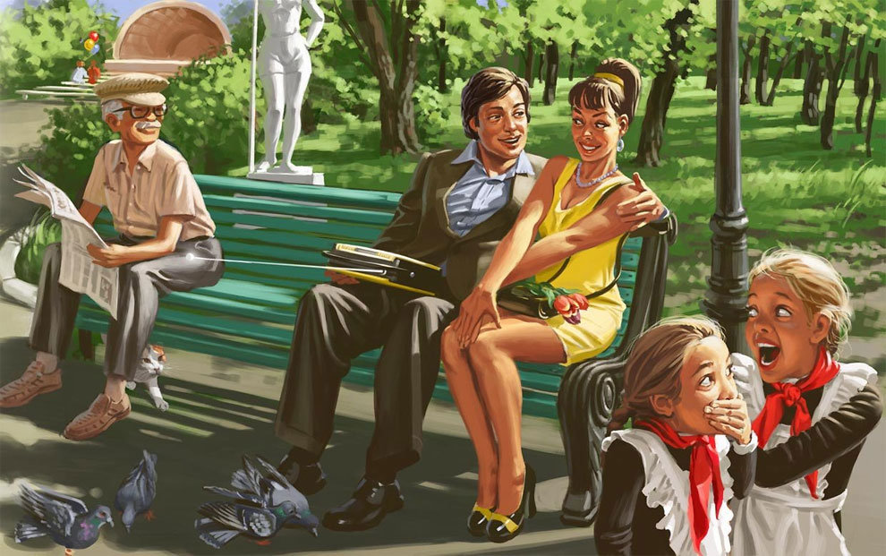 Любимые авторы Pin Up. Валерий Барыкин