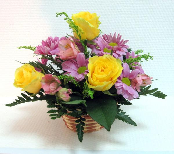 Букета, цветы букет в губке