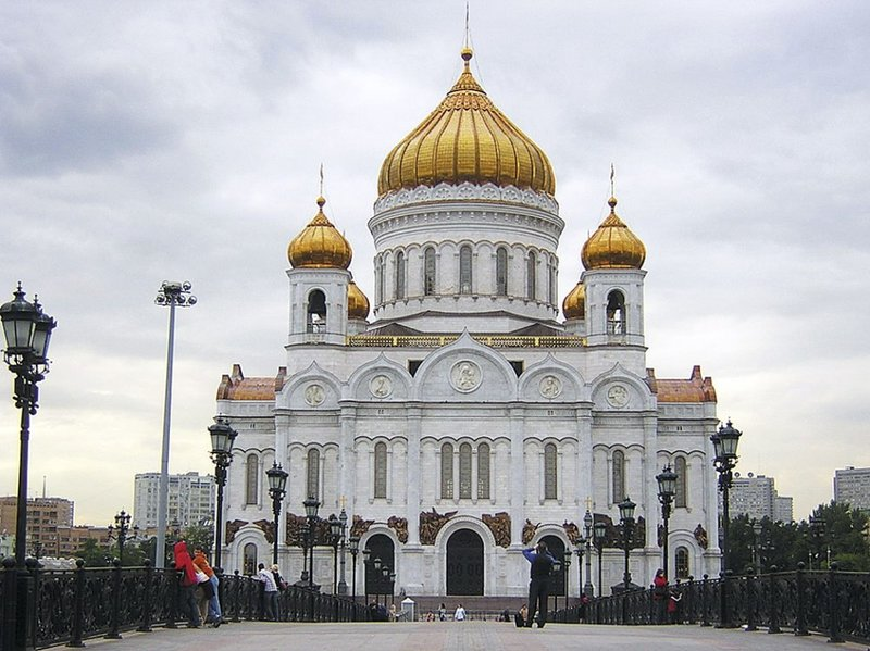 Храм Христа Спасителя  Википедия