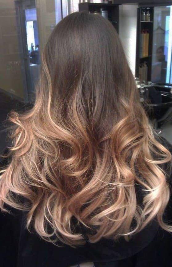 шатуш на темно-русые волосы