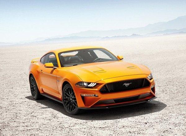 Знаменитый Ford Mustang шестого поколения после рестайлинга