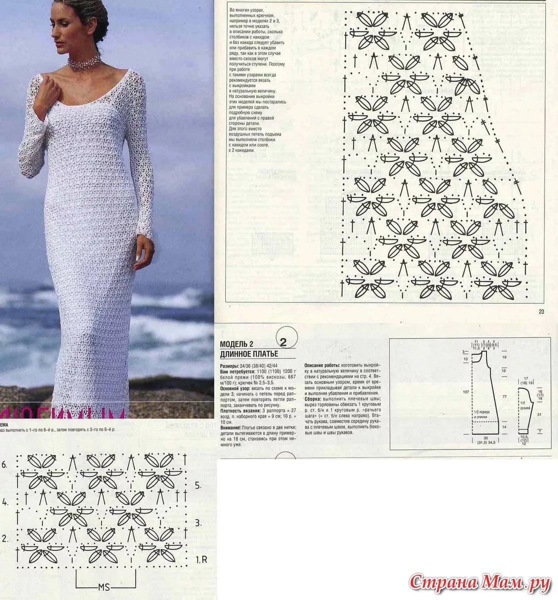 нормативный акт модели платья вязаные крючком схемы и фото долго