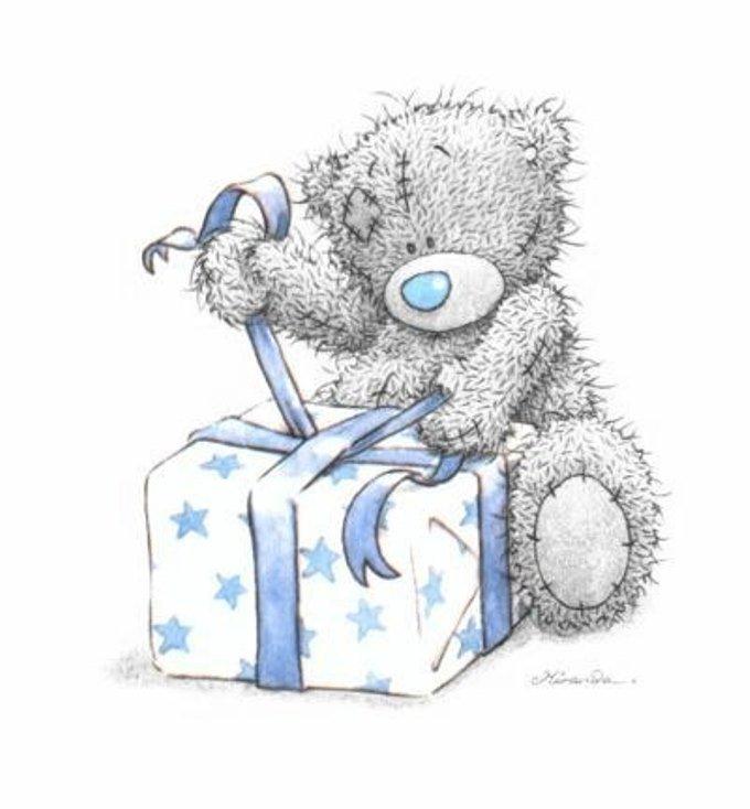 Картинка мишки тедди с днем рождения, для