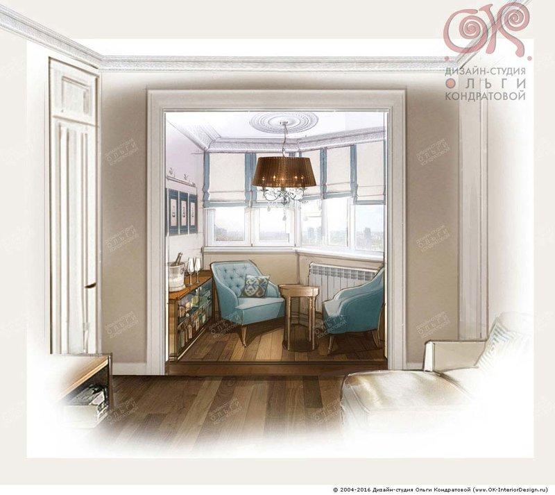 Дизайн кухни с присоединенным балконом дизайн кухни - фото, .