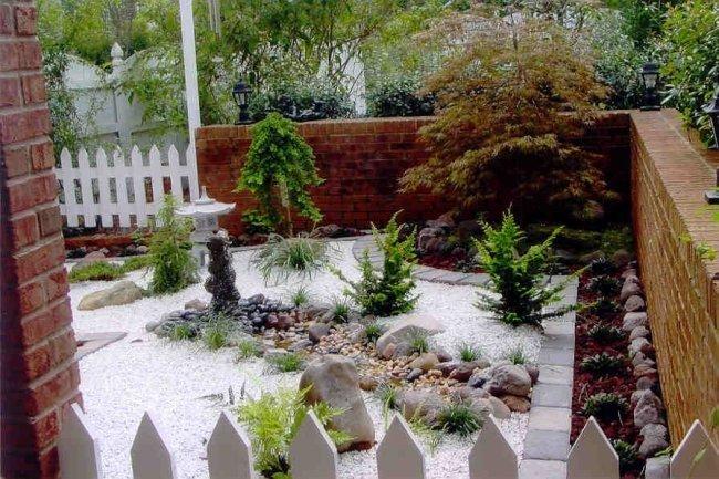 Ландшафтный дизайн участка: Японский сад. Сад в японском стиле.