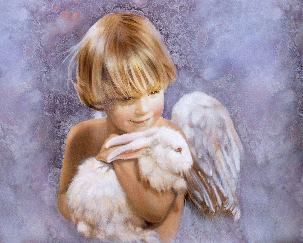 Днем рождения, дети ангелы картинки