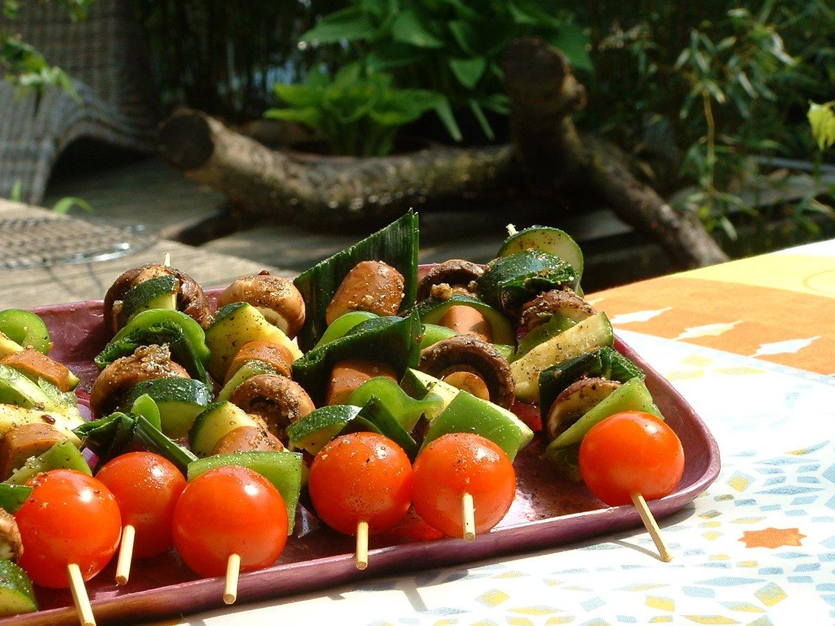 шашлык из овощей рецепт с фото после расставания пары
