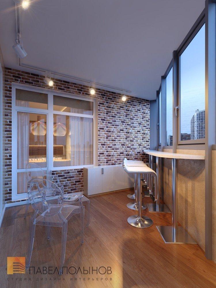 """Дизайн интерьера лоджии в проекте """"дизайн интерьера квартиры."""
