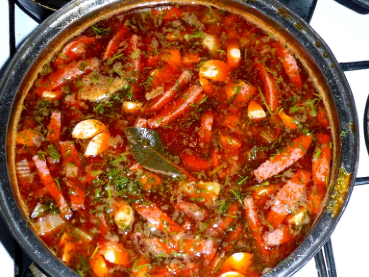 рецепт солянки сборной мясной пошаговый рецепт с фото