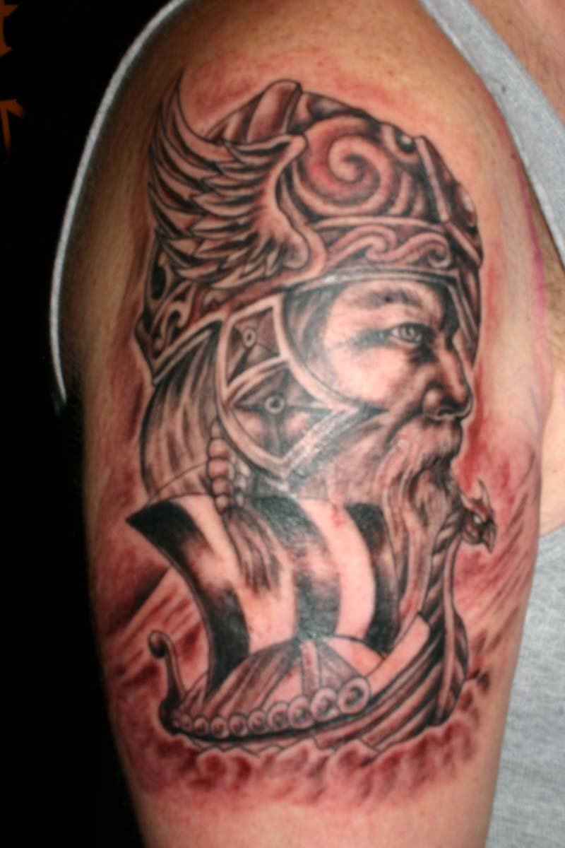 """Find and save photo ideas about New Angry Viking Tattoo ..."