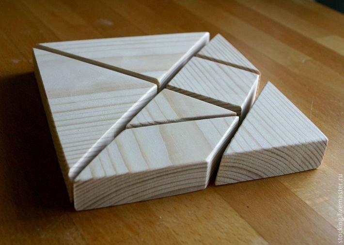 Треугольник из дерева своими руками