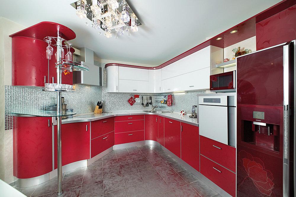 журнальный самые красивые кухни красные фото ворсинками