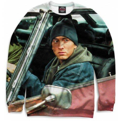 Мужской свитшот 3D Eminem