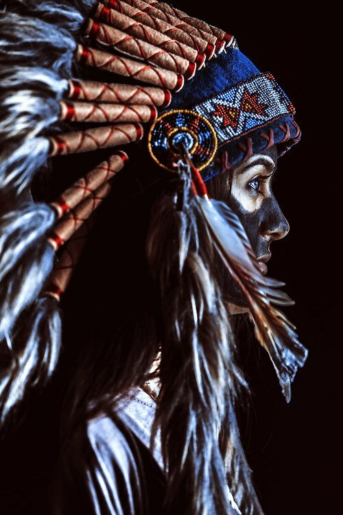 образ индейца