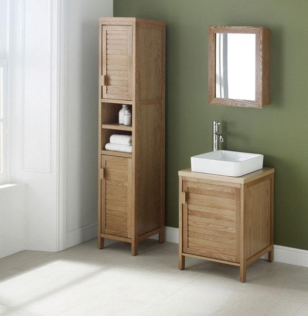 мебель для ванной комнаты из дерева обязательно должна быть