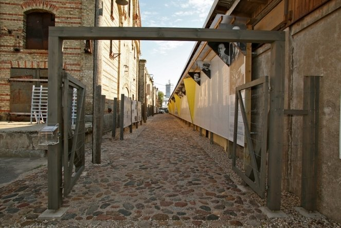 Музей рижского гетто. Рига