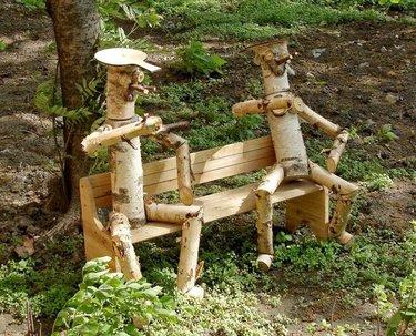 дачные фигурки из дерева своими руками