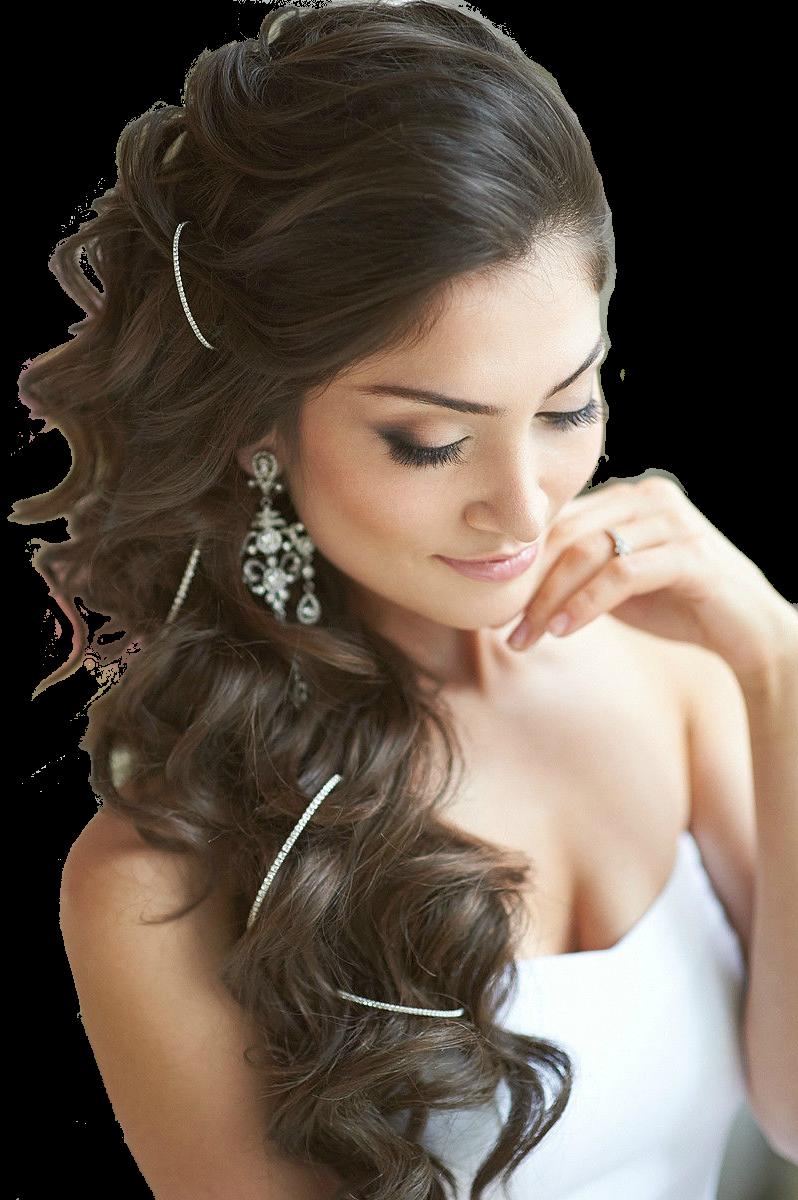 Красивые картинки длинных волос на свадьбу