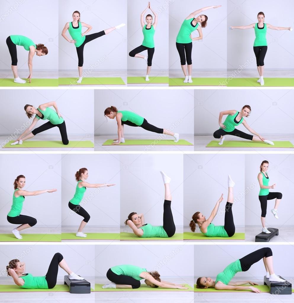 Похудеть Домашние Упражнения. Упражнения для похудения в домашних условиях