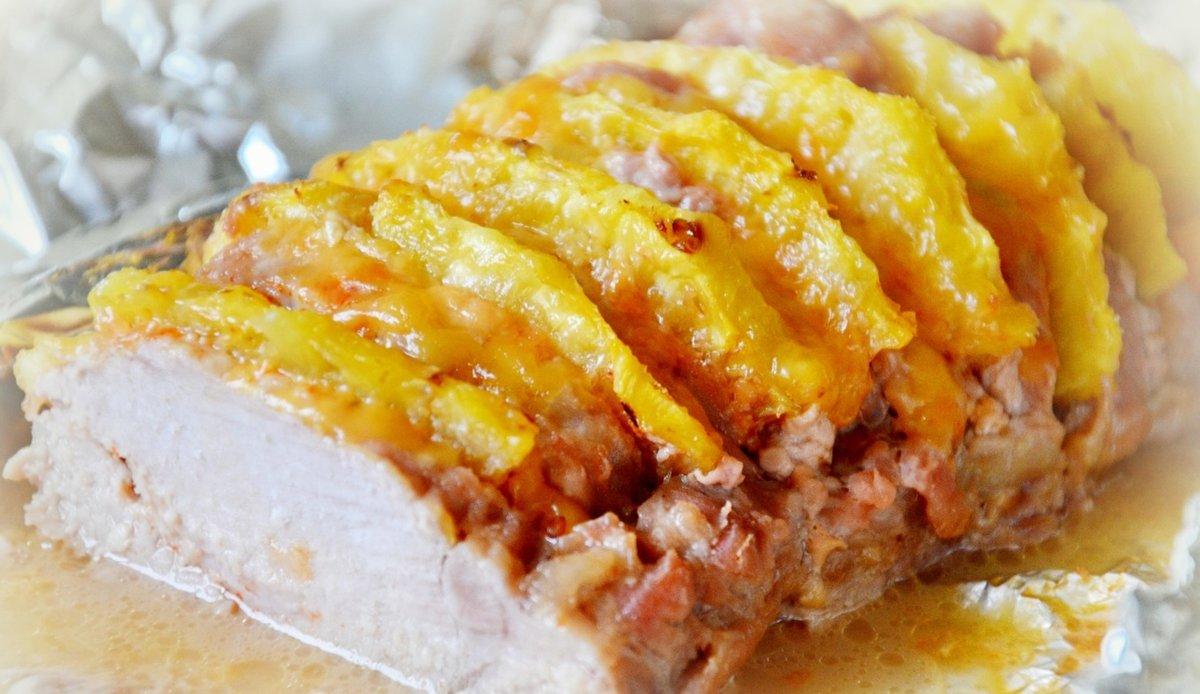 очень удобное, блюда с ананасом свежим рецепты Москве, России Как