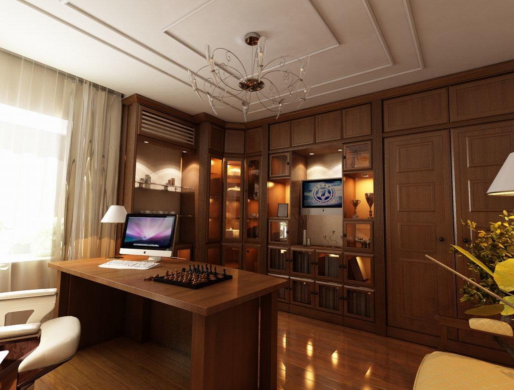 Дизайн рабочего кабинета в квартире фото
