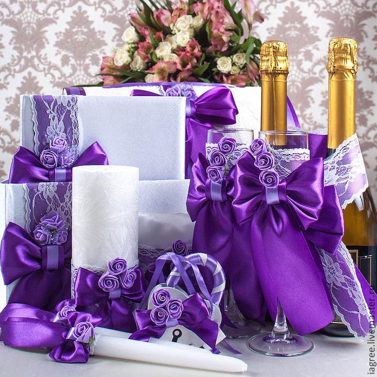 Фиолетовый цвет картинки для свадьбы