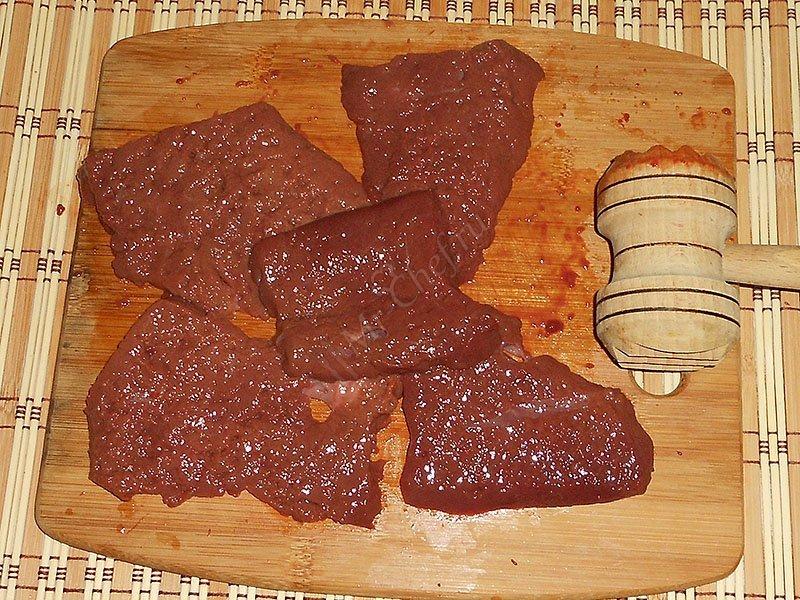 Керкшино рецепт печень из говядины технологичность