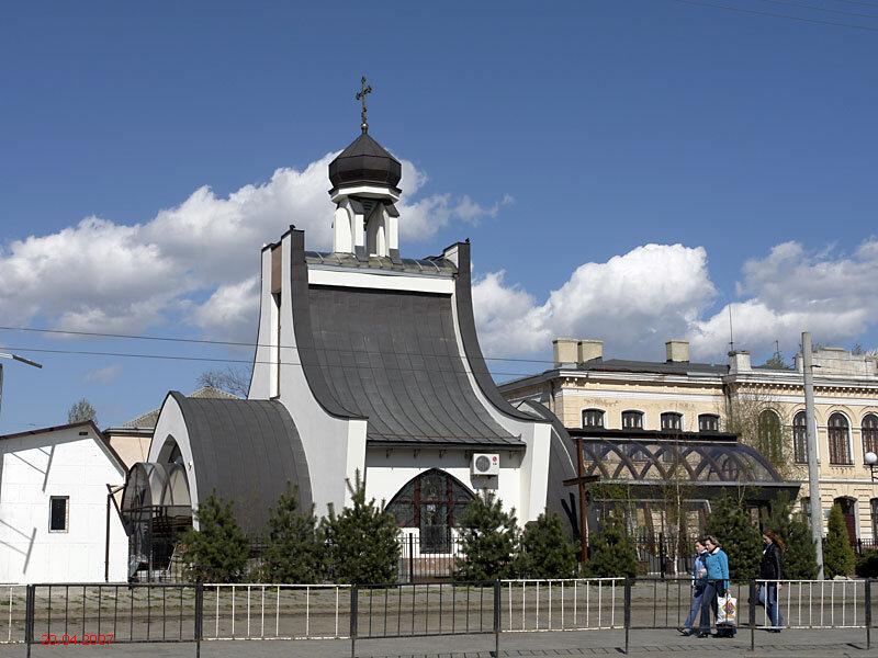 белокаменный храм