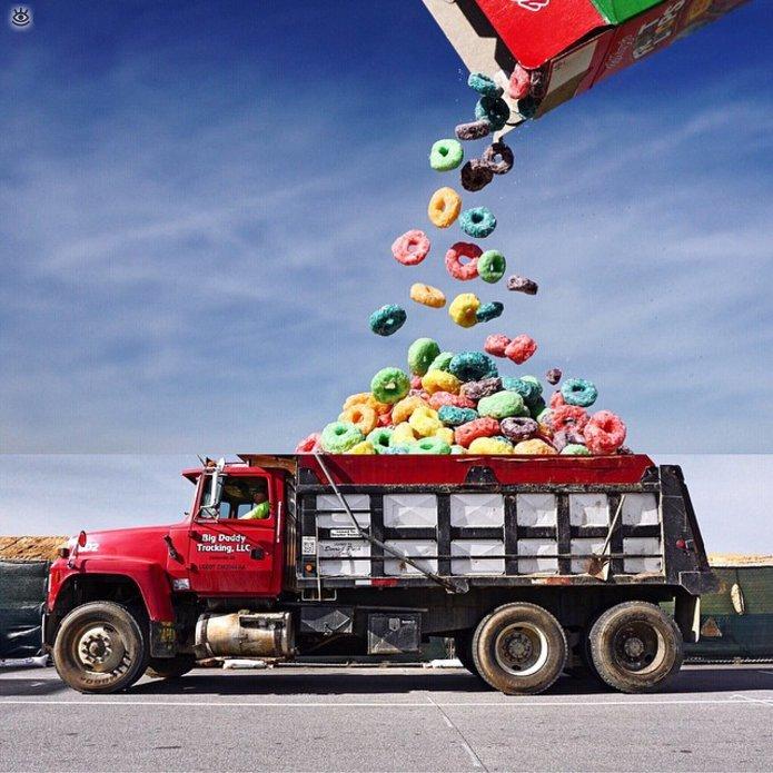 Прикол картинки грузовиков