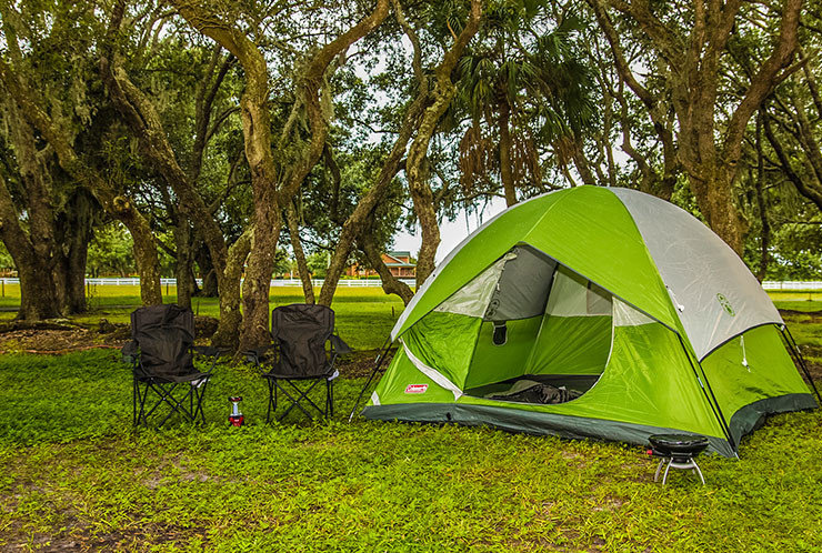 camping brings families together