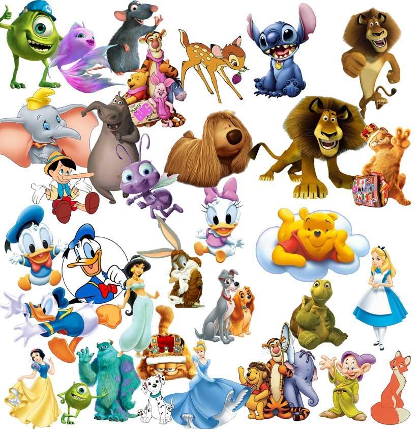 Детские картинки с героями