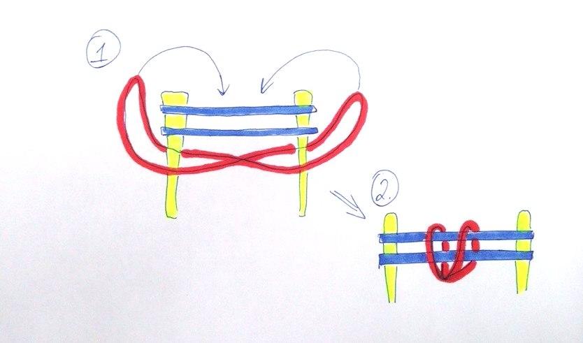 схемы браслетов из резинок схемы с картинками