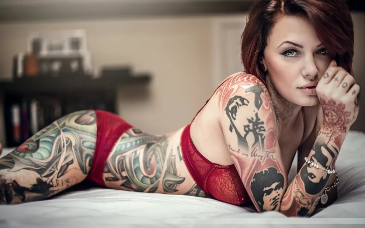 Model nude tattoo The 20