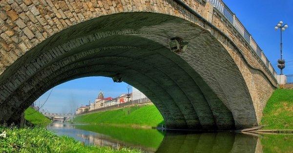 Лебедевский мост | Покажу Казань | 313x600