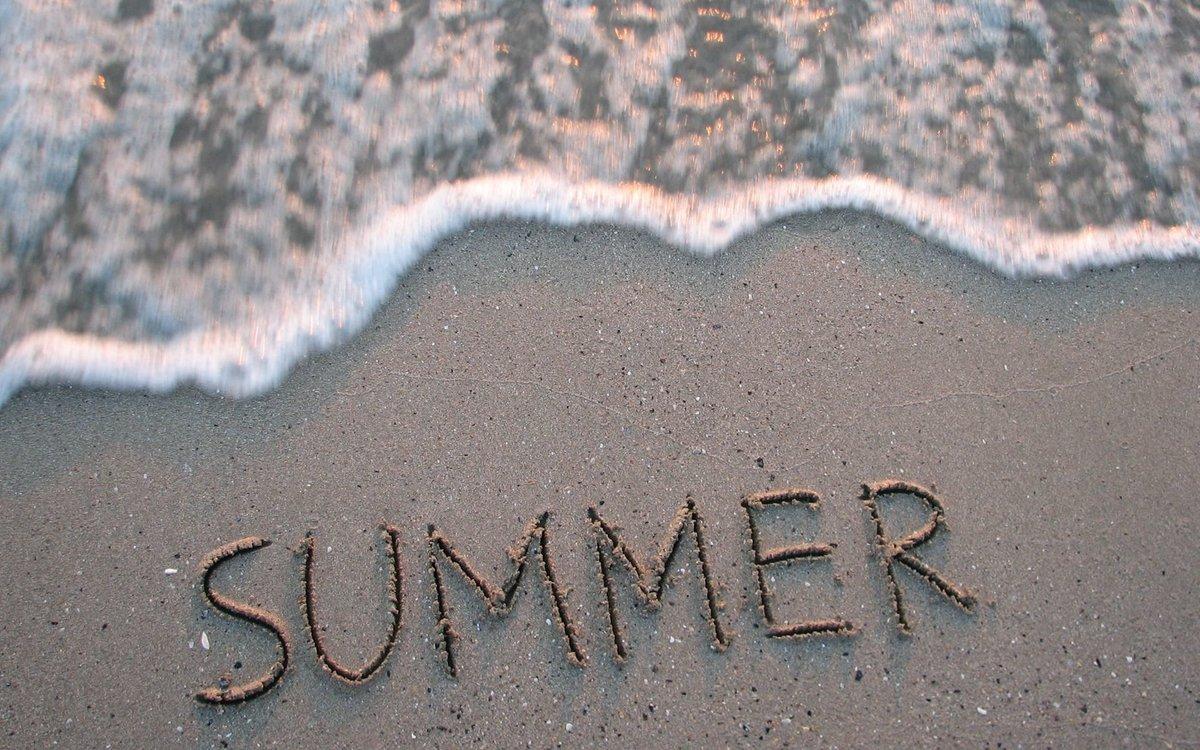 Милые картинки с надписью лета