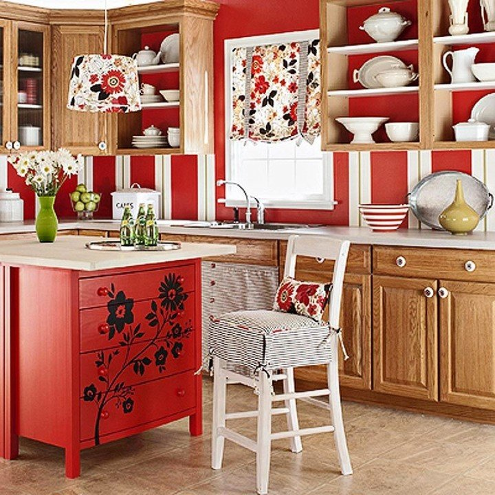 украсить кухню своими руками с картинками