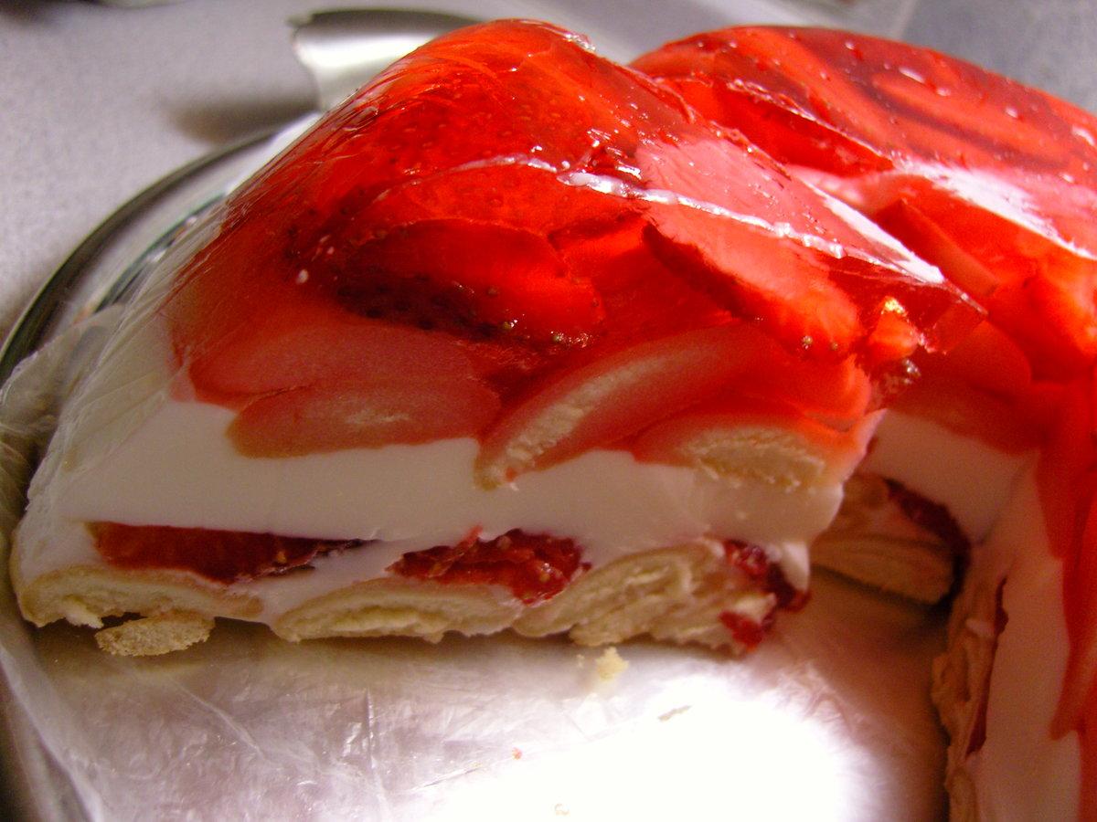 желейный десерт со сметаной с фото пошагово смешайте