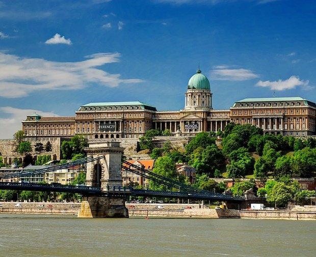 Дворцы Венгрии: Королевский дворец в Будапеште.