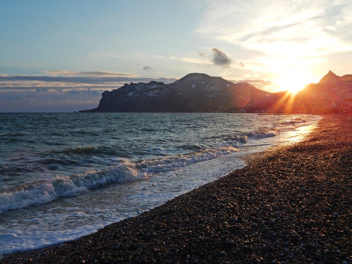 отправляемся крым коктебель пляжи фото объемным