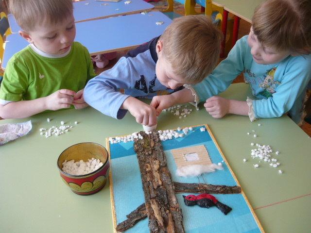 поделки с детьми в детском саду сообщает администрация Костромы