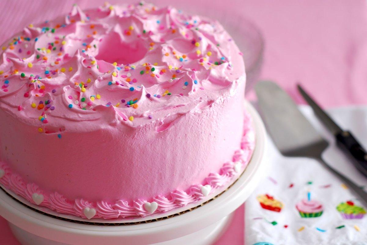 Тортики картинки для девочек, днем
